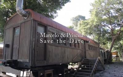 {Save the Date}-Marcelo & Priscila