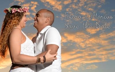 {Save the Date}-Taiara & Marcus