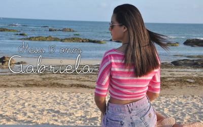 Meus 15 anos Gabriela-{Clipe}