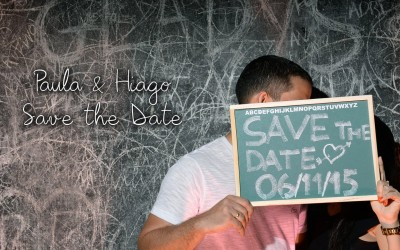 {Save the Date}-Paula e Hiago