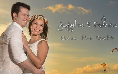 {Save the Date}-Jaqueline & Fabricio
