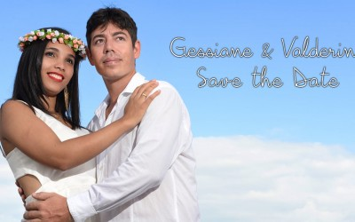 {Save the Date}-Gessiane & Valderino