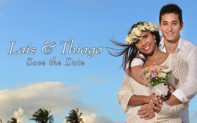 {Save the Date}-Laís & Thiago