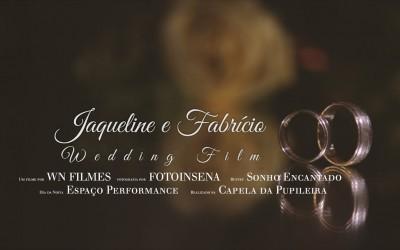 {Trailer}-Jaqueline e Fabricio Wedding Film