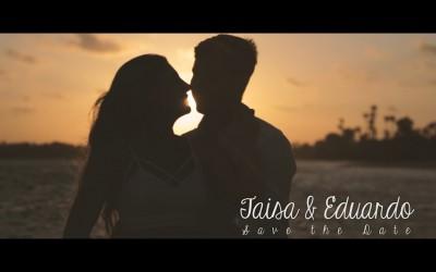{save the date}-Taisa & Eduardo