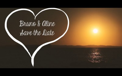 {save the date}-Bruno & Aline