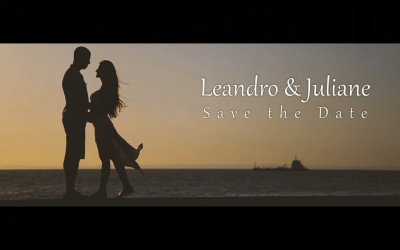 {Save the Date}-Leandro & Juliane