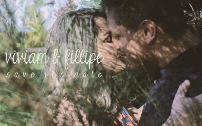 {Save the date}-Viviam & Fillipe